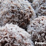 An easy to make, no bake high Protein Balls recipe with added protein powder