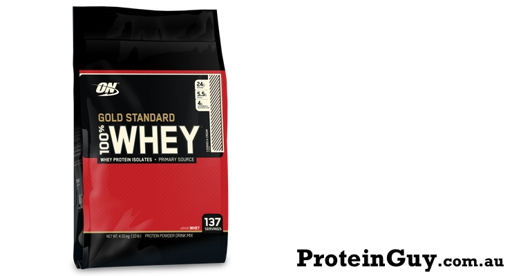 8 Optimum Nutrition 100 Gold Standard Whey Protein 10