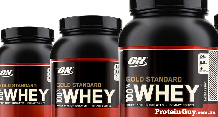 Gold Standard 100% Whey by On Optimum Nutrition