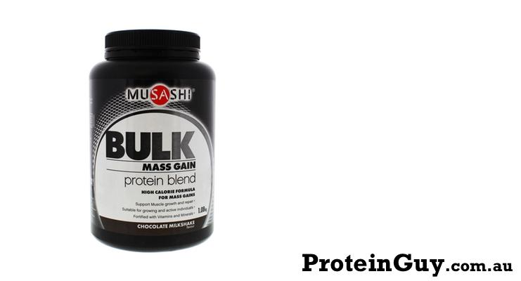 Bulk Mass Gain Protein Blend by Musashi 1.08kg
