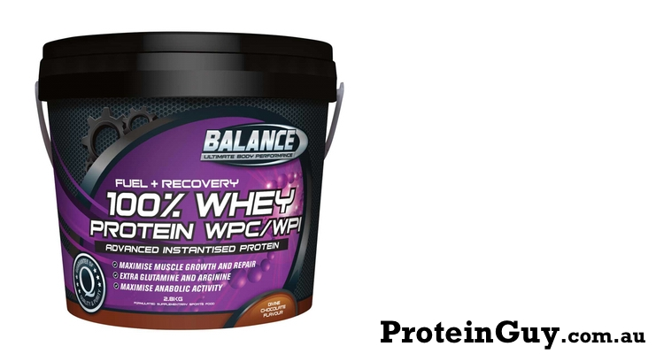 100% Whey Protein WPC WPI by Balance Sports Nutrition