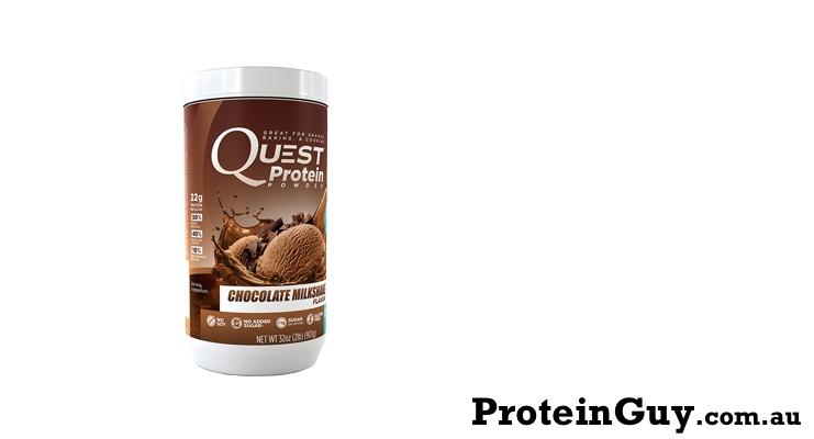 Quest Protein Powder Chocolate Milkshake by Quest Nutrition