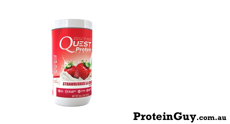 Quest Protein Powder Strawberries and Cream by Quest Nutrition