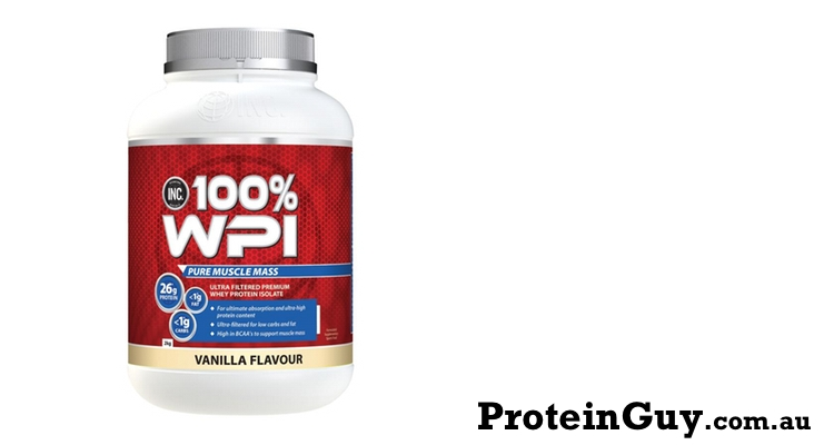 100% WPI by INC International Nutrition Co
