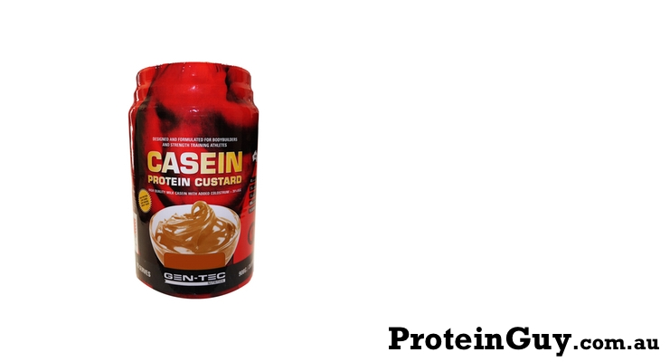 Casein Custard by Gen-Tec Nutrition 908gm