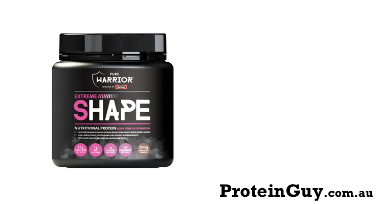 Extreme Shape by Pure Warrior 500g Chocolate Powered by Swisse