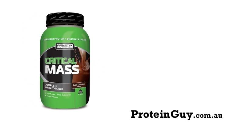 Critical Mass by Genetix Nutrition 2kg Dutch Chocolate