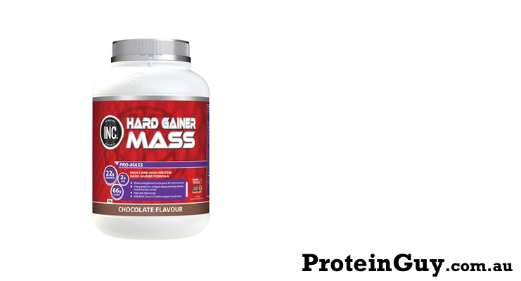 Hard Gainer Mass by INC International Nutrition Co 2kg Chocolate