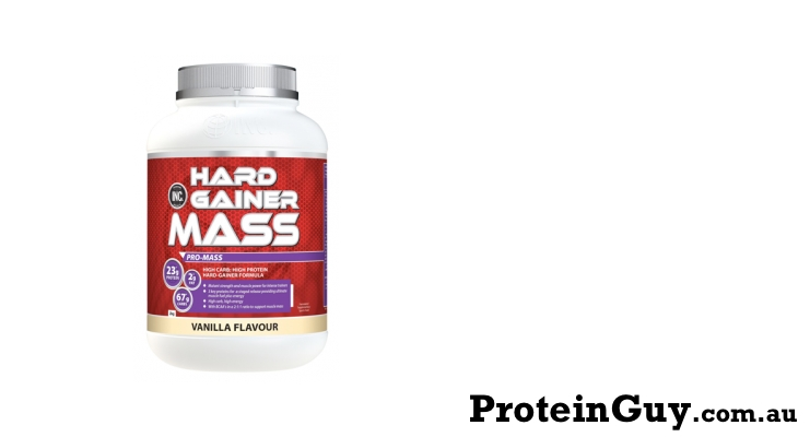 Hard Gainer Mass by INC International Nutrition Co 2kg Vanilla