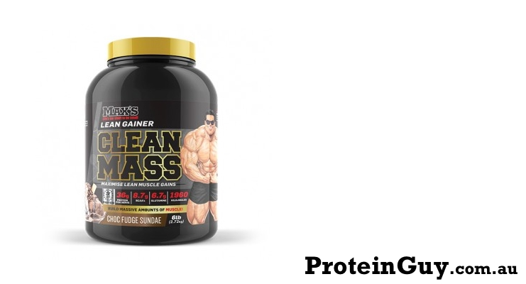Clean MASS by Maxs Choc Fudge Sundae 6lb 2.72kg
