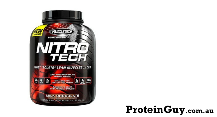 Nitro-Tech by MuscleTech 4lb Milk Chocolate