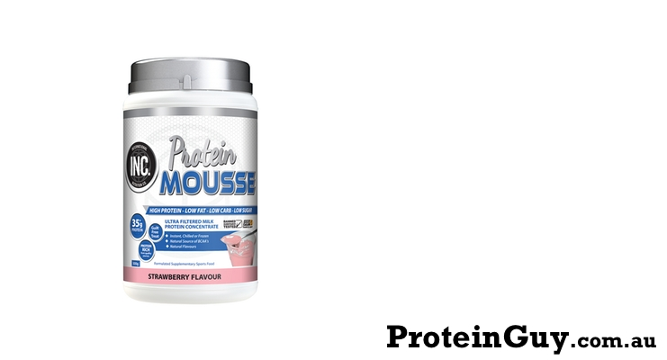 Protein Mousse by INC Sports Nutrition Strawberry