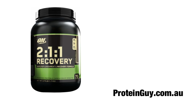 2:1:1 Recovery by Optimum Nutrition Chocolate