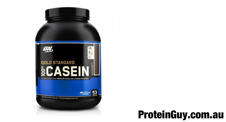 Gold Standard 100% Casein by Optimum Nutrition 1.92kg 4lb