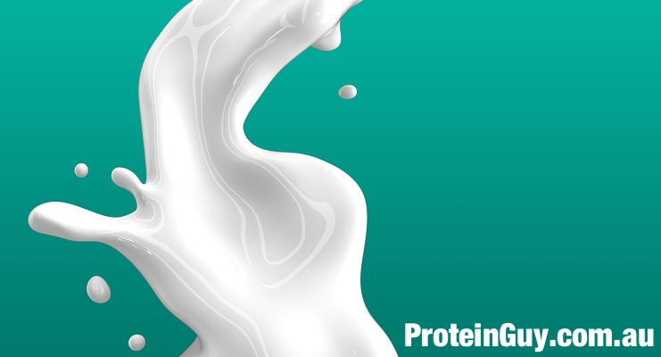 Mix milk with your Protein Powder