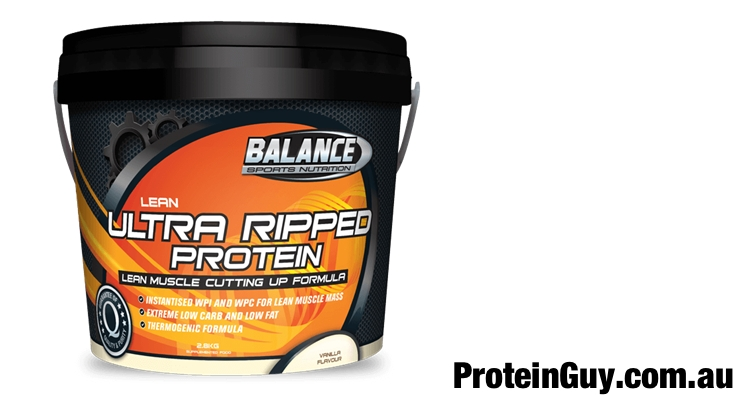 Ultra Ripped Protein by Balance Sports Nutrition 2.8kg