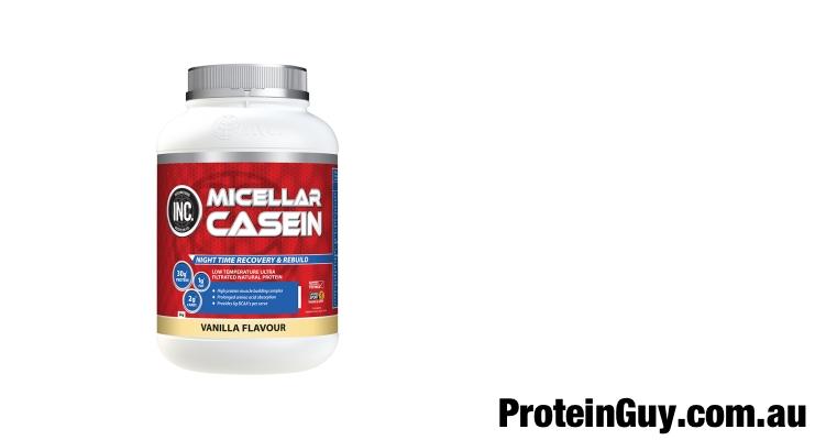Micellar Casein by INC Sports Nutrition Vanilla 2kg
