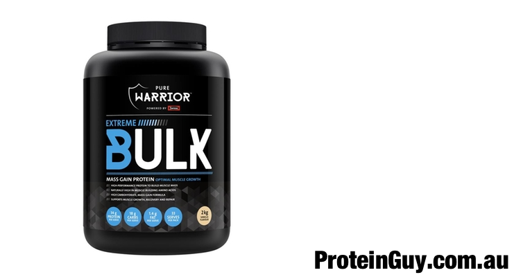 Extreme Bulk by Pure Warrior Powered by Swisse Vanilla 2kg
