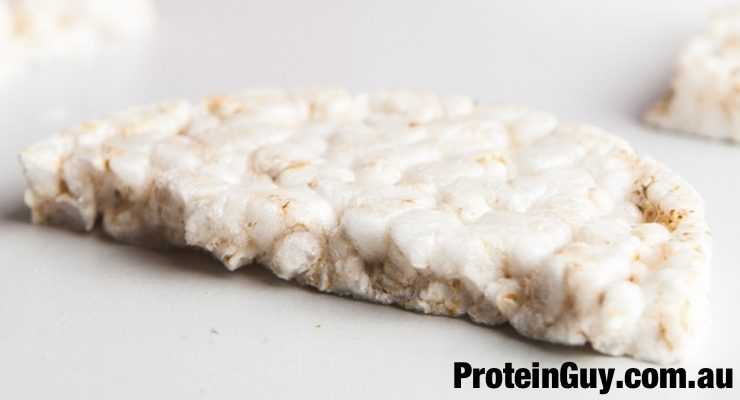 Rice Cake for the Rice Cakes with Tuna and Cottage Cheese Recipe