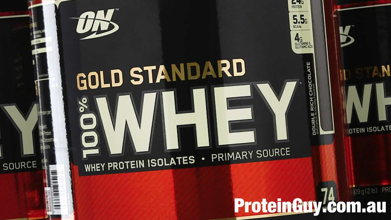 Gold Standard 100% Whey Protein Powder Supplement by Optimum Nutrition ON