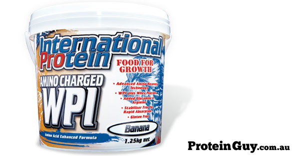 Amino Charged WPI International Protein