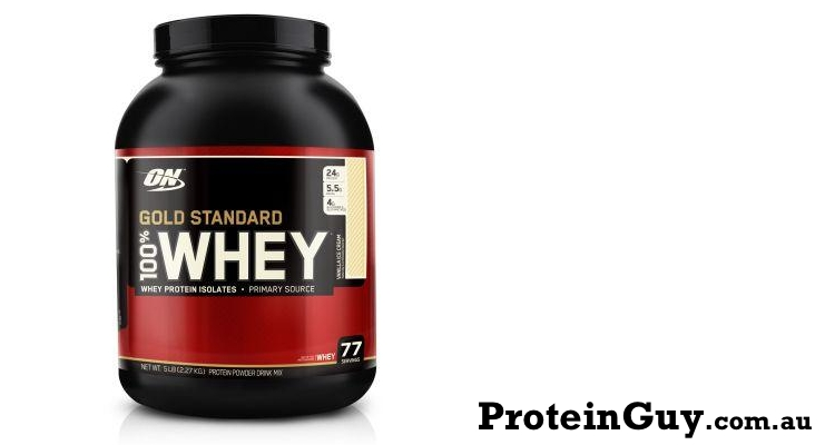 Gold Standard 100% Whey 5lb 2.27kg by ON Optimum Nutrition