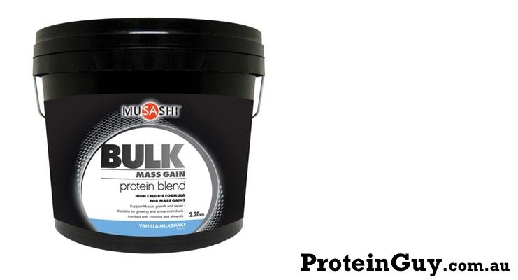 Bulk Mass Gain Protein Blend by Musashi