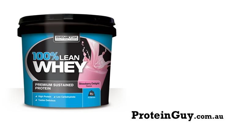 100% Lean Whey by Genetix Nutrition 3kg