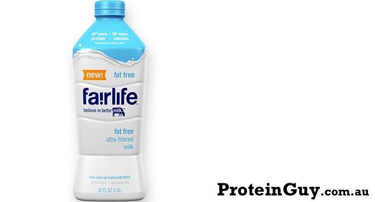 Fat Free Ultra Filtered Milk by fairlife