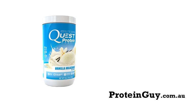 Quest Protein Powder Vanilla Milkshake by Quest Nutrition