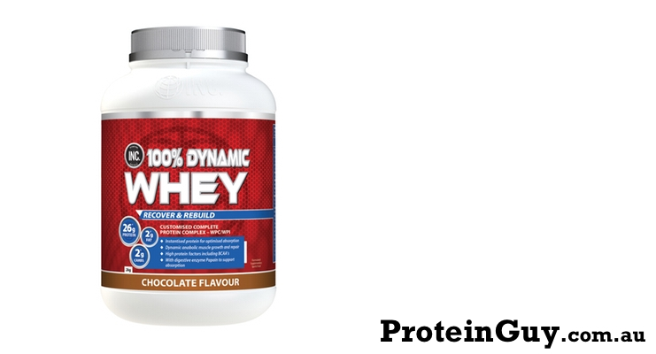 100% Dynamic Whey by INC Co International Nutrition Company