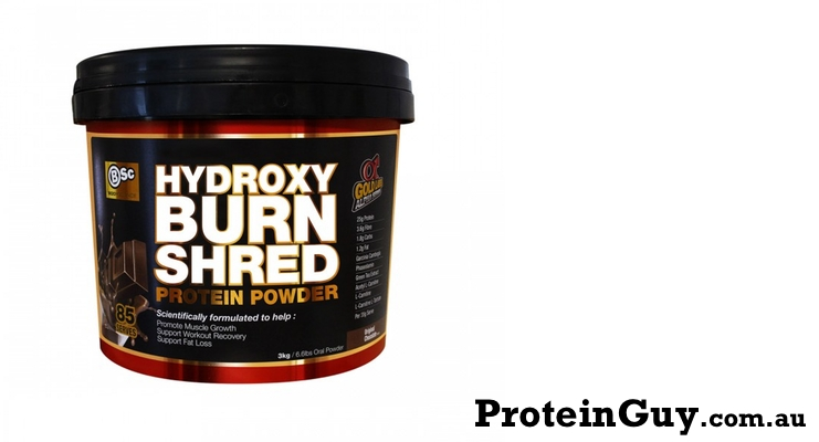 HydroxyBurn Shred by BSc Body Science 3kg Bucket