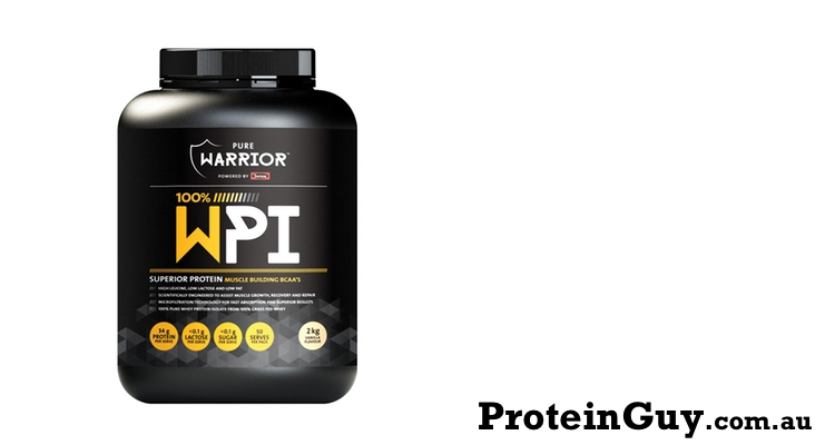 100% WPI by Pure Warrior Powered by Swisse 2kg Vanilla