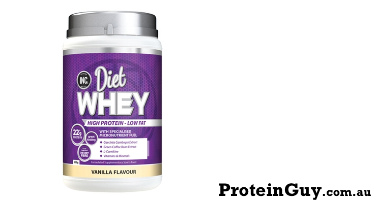 Diet Whey by INC International Nutrition Co 500gram Vanilla