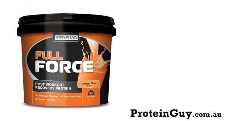 Full Force by Genetix Nutrition 4kg Orange Pine