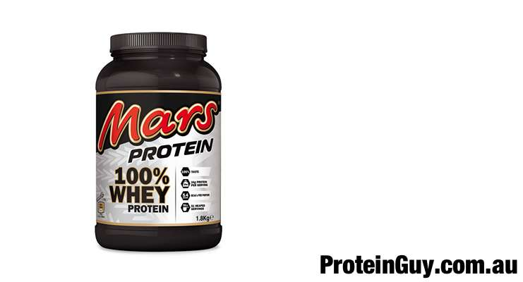 Mars Protein 100% Whey Protein by Mars INC