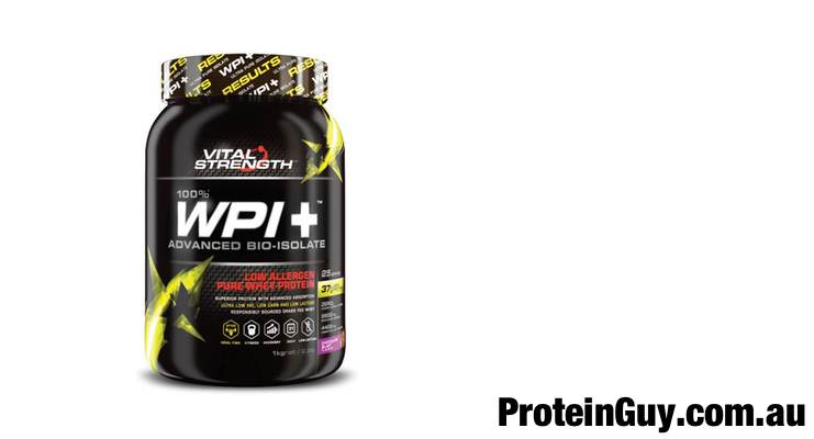 WPI+ Whey Protein Isolate by Vital Strength 1kg