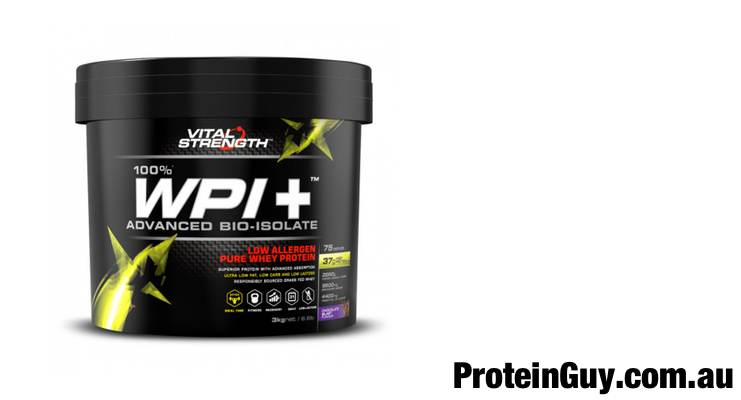 WPI+ Whey Protein Isolate by Vital Strength 3kg