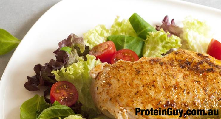 How much Protein is there in a Chicken Breast